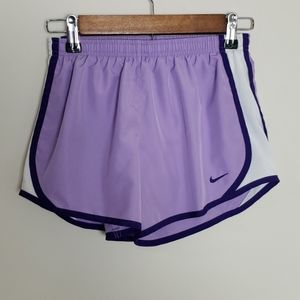 Nike dri-fit purple shorts. Size L.